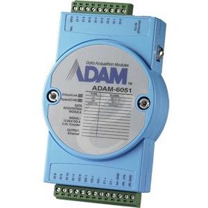 Advantech 14-ch Isolated Digital I/O Modbus TCP Module with 2-ch Counter ADAM-6051-D ADAM-6051