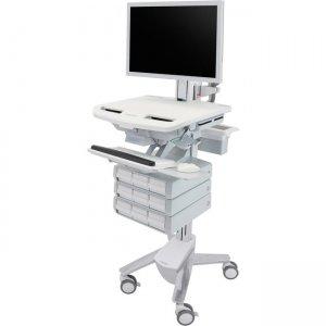 Ergotron StyleView Cart with HD Pivot, 9 Drawers (3x3) SV43-2590-0