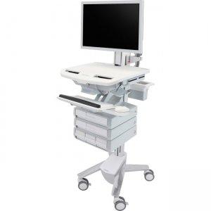 Ergotron StyleView Cart with HD Pivot, 5 Drawers (1x2+3) SV43-2550-0