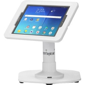ArmorActive Pipeline Kiosk 8 in with Elite for Tab A 10.1 in White with Baseplate 800-00001_00226