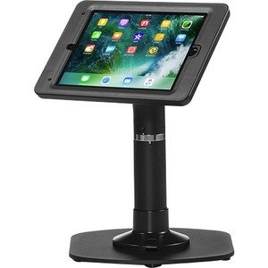 ArmorActive Pipeline Kiosk 12 in with Elite for iPad 9.7 in Black with Baseplate 800-00001_00126
