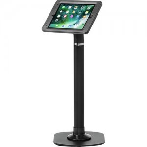 ArmorActive Pipeline Kiosk 24 in with Elite for iPad 9.7 in Black with Baseplate 800-00001_00127