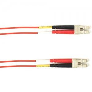 Black Box Fiber Optic Duplex Patch Network Cable FOCMP62-004M-LCLC-RD