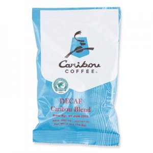 Caribou Coffee Decaf Caribou Blend Coffee Fractional Packs, 2.5 oz, 18/Carton CCF008715 008715