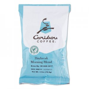 Caribou Coffee Daybreak Ground Coffee, 2.5 oz, 18/Carton CCF008711 008711