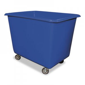 Royal Basket Trucks 16 Bushel Poly Truck w/Galvanized Steel Base, 32 x 44 x 35 1/2, 800lbs Cap