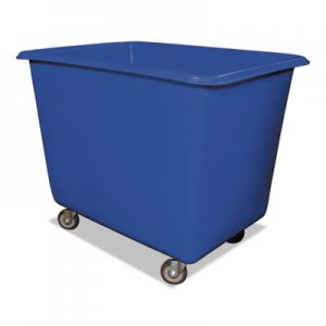 Royal Basket Trucks 8 Bushel Poly Truck w/Galvanized Steel Base, 26 x 38 x 28 1/2, 800 lbs