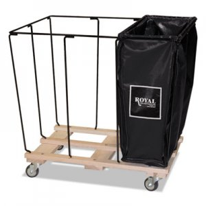Royal Basket Trucks Drop In Dividers, 3 Compartments, 20 Bushel, Vinyl/Steel, Black RBTL20KKXR3N L20-KKX-R3N