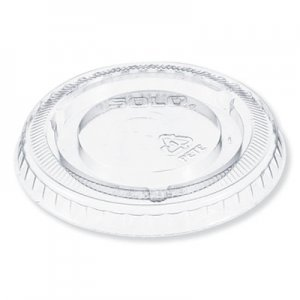 Dart Plastic Cold Cup Lid for 5 oz Cup, No Hole, Clear, 2500/Carton DCC605TP 605TP