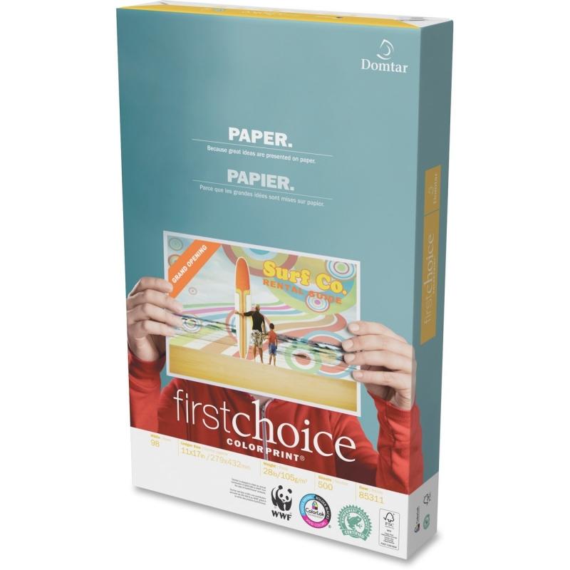 Domtar FirstChoice 11x17 ColorPrint Paper 85311 DMR85311