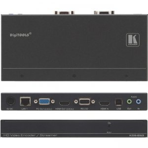 Kramer H.264 Encoder, Recorder & Streamer KDS-EN3