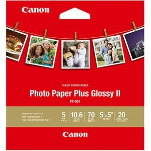 Canon Photo Paper Plus Glossy II 5x5 (20 Sheets) 1432C012