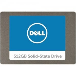 Dell Technologies 2.5in Serial ATA Solid State Hard Drive - 512GB SNP110S/512G