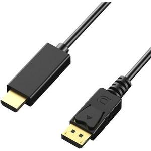 Axiom DisplayPort/HDMI Audio/Video Cable DPMHDMIM15-AX