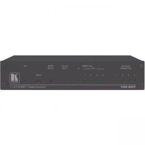 Kramer 1:4 4K60 4:2:0 Long-Reach HDBaseT DA 10-8046301090 VM-4DT