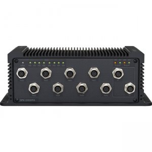 Hanwha Techwin 8-Port PoE Network Switch SPN-10080PM
