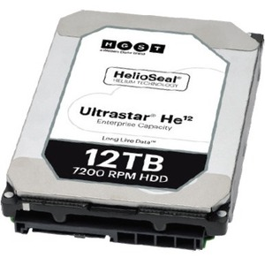 HGST Ultrastar He12 w/ 3.5 in. Drive Carrier 1EX1012
