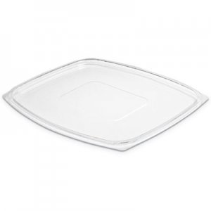 Dart ClearPac Clear Container Lids, 7.4w x 9l, Clear, 4/Carton DCCC64DLR C64DLR
