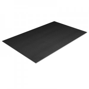 Crown Tuff-Spun Foot Lover Anti-Fatigue Pebble Mat, PVC, 36 x 144, Black CWNFP3612BK FP 3612BK
