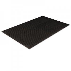 Crown Tuff-Spun Foot Lover Anti-Fatigue Rib Mat, PVC, 36 x 144, Black CWNFL3612BK FL 3612BK
