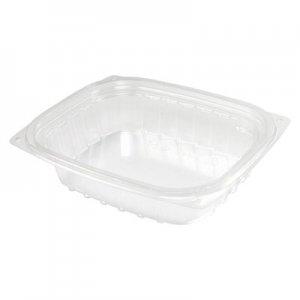 Dart ClearPac Clear Container, 8 oz, 5.9 x 4.9 x 1.3, Clear, 1008/Carton DCCC8DER C8DER