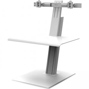 Humanscale Quickstand Eco, Dual, Monitor, White QSEWD HUMQSEWD