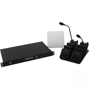 Revolabs Executive Elite 4 Channel Wireless Microphone System 01-ELITEEXEC4-31GSA