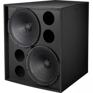 """Electro-Voice EVF-2151D Dual 15"""" Front-Loaded Subwoofer EVF-2151D-FGB"""