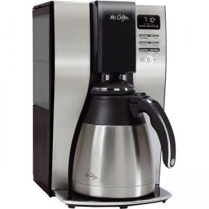 Mr. Coffee Optimal Brew 10-Cup Programmable Coffee Maker with Thermal Carafe BVMC-PSTX91-RB MFEBVMCPSTX91RB