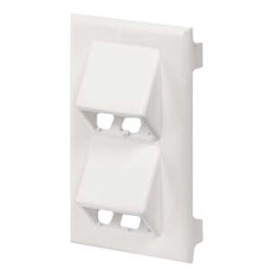 Panduit 4 Socket Single Gang Faceplate Module T70FV4EI