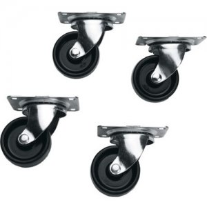 Middle Atlantic Products Casters, DTRK Series DTRK-W
