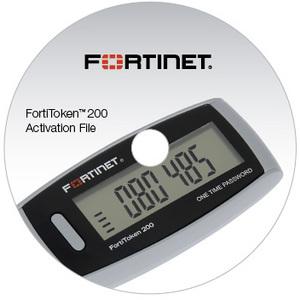 Fortinet FortiToken- Hardware (OTP) Token FTK-200CD-20 200CD