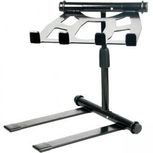 Pyle Universal Portable Foldable Telescoping Height Professional DJ Laptop Stand PLPTS55