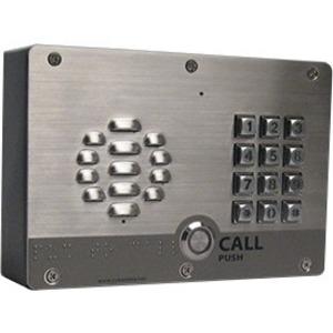 CyberData VoIP Outdoor Intercom, Singlewire-enabled, w/Keypad 011310
