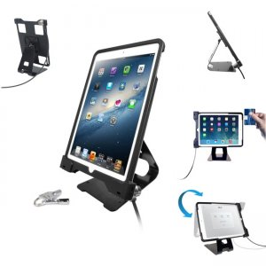 CTA Digital Anti-Theft Security Case with POS Stand PAD-ASCS