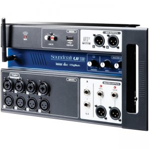 Soundcraft 12-input Remote-Controlled Digital Mixer 5056217 Ui12