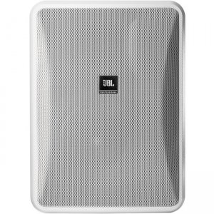JBL High Output Indoor/Outdoor Background/Foreground Speaker CONTROL 28-1-WH Control 28-1