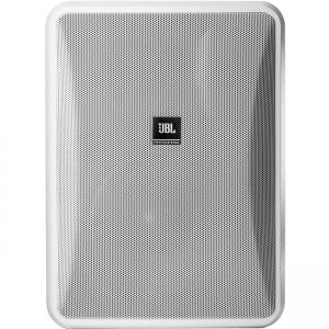 JBL CONTROL High-Output 8-Ohm Indoor/Outdoor Background/Foreground Speaker CONTROL 28-1L-WH 28-1L