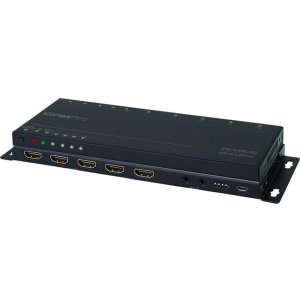 KanexPro UltraSlim 4K HDMI 4x1 Switcher with 4:4:4 Color Space & 18G SW-4X1SL18G