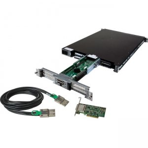 Magma 4 Slot PCI Express Expansion System, 1U form factor EB4-1U-X8G2