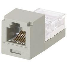 Panduit Category 3, 6-Position, 6-wire Universal Module. International Gray CJ66IGY