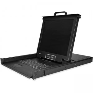 "StarTech.com 8-Port Rackmount KVM Console with 17"" Display RKCONS1708K"