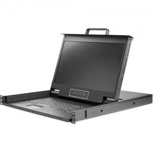 """StarTech.com 17"""" HD Rackmount KVM Console - 1 Port RKCONS17HD"""