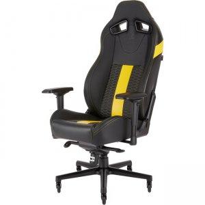 Corsair T2 ROAD WARRIOR Gaming Chair - Black/Yellow CF-9010010-WW