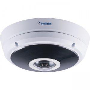 GeoVision 3MP H.265 Super Low Lux WDR Pro IR Fisheye Rugged IP Camera GV-EFER3700