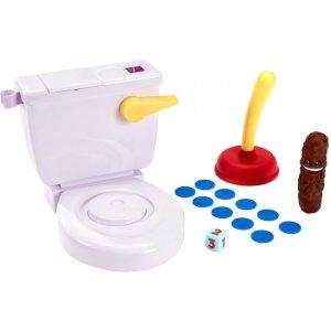Mattel Flushin' Frenzy Game - Pop the Poop! FWW30