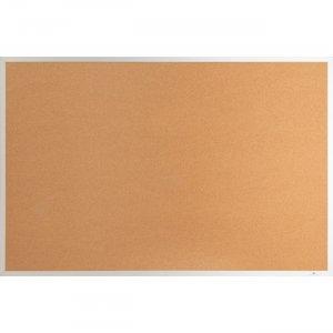Lorell Aluminum Frame Cork Board 19764 LLR19764