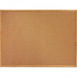 Lorell Oak Wood Frame Cork Board 19766 LLR19766
