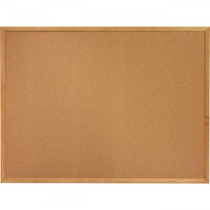 Lorell Oak Wood Frame Cork Board 19768 LLR19768