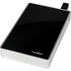Rocstor Rocsecure Real-time Hardware Encrypted Portable External Hard Drive E634P5-01 EX31